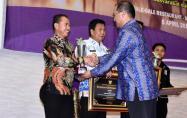 Bupati Bangka menerima Penghargaan dari Gubernur Babel pada acara Musrenbang RKPD 2020 Provinsi Babel.